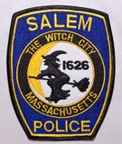 Der Schulterflecken Salem Police Departments in Massachusetts stockbild