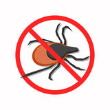 Der Schutz gegen Milben Stockfoto