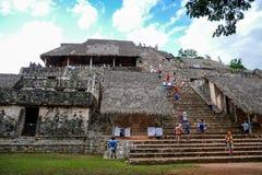 Der schwarze Jaguar-Tempel stockfotos