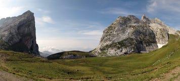 Der Schweizer Felsen Stockfotos