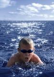 Der Schwimmer Stockfotografie