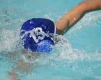 Der Schwimmer Stockbild