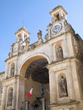 Der Sedile Palast. Matera. Basilicata. Stockfoto