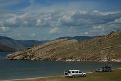 Der See Baikal Stockbild