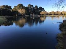 Der See bei Fagan Park Lizenzfreie Stockfotos