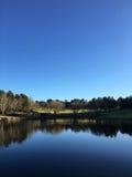Der See bei Fagan Park Stockbilder