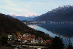 Der See Comos Stockfotografie