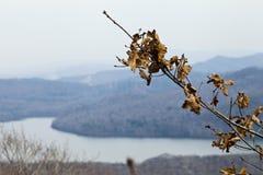 Der See in den Bergen Stockfoto