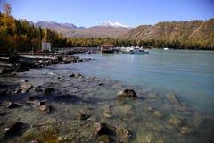 Der See nahe Schneeberg Lizenzfreies Stockfoto