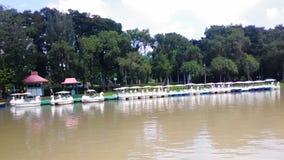 Der See von Chatuchak-Park Lizenzfreie Stockfotos