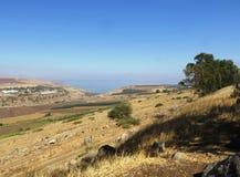 Der See von Galiläa - Israel Stockbilder