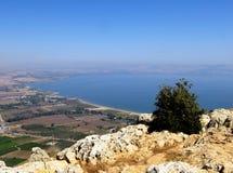 Der See von Galiläa - Israel Lizenzfreies Stockfoto