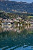 Der See von Millstatt lizenzfreie stockfotos