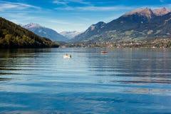 Der See von Millstatt Lizenzfreies Stockfoto