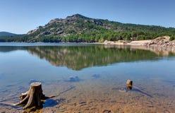 Der See von Ospedale nahe Porto-Vecchio - Korsika Frankreich lizenzfreie stockbilder