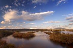 Der See in Yalova, Griechenland lizenzfreies stockfoto