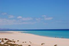 Der sehr beste Strand Stockfoto