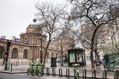 Der Senat von Frankreich fand am Luxemburg-Palast im 6. Arrondissement von Paris lizenzfreie stockfotos