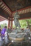 Der Senso-jitempel in Asakusa, Tokyo, Japan Das Wort bedeutet Kob Stockbilder