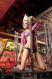 Der sexuelle Tänzer Lizenzfreies Stockbild