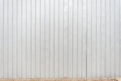 Der silberne Graueisenwandbeschaffenheitshintergrund Stockfoto