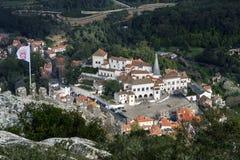 Palácio Nacional de Sintra - der Sintra Staatsangehörig-Palast Stockfotografie
