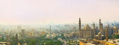 Der Smog im Himmel Lizenzfreie Stockbilder