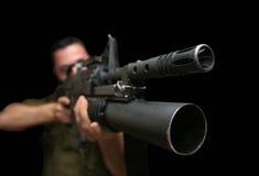 Der Soldat Lizenzfreie Stockfotos