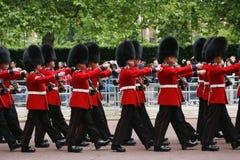 Der Soldat der Königin an der Geburtstags-der Parade der Königin Stockfotografie