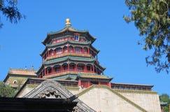 Der Sommer-Palast szenisch Stockbild