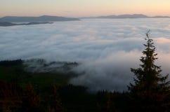 Der Sonnenaufgang Stockfotografie