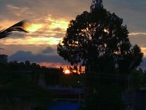 Der Sonnenaufgang Lizenzfreie Stockbilder