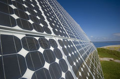 Der Sonnenkollektor stockfoto