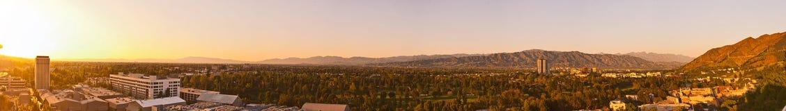 Der Sonnenuntergang von Engeln 2 Stockfotografie