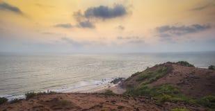Der Sonnenuntergang von verschiedenen Kulturen Stockfotos