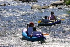 Der Spaß des Flusses Lizenzfreie Stockfotos
