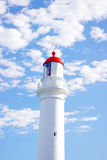 Der Spalten-Punkt-Leuchtturm stockfotografie