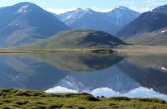 Der Spiegel von Altai Lizenzfreie Stockfotos