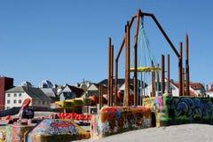 Der Spielplatz Lizenzfreie Stockfotografie