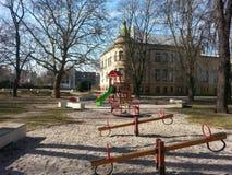 Der Spielplatz der freien childrenÂs lizenzfreies stockfoto
