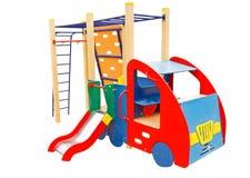 Der Spielplatz der Kinder Stockbild