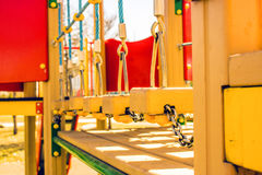 Der Spielplatz im Park Lizenzfreies Stockfoto