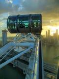 An der Spitze des Singapur-Fliegers Stockfotografie