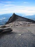 An der Spitze von Mt Kinabalu, Borneo Stockbild