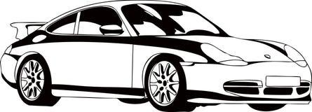 Der Sportwagen Lizenzfreie Stockfotos