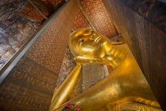 Der stützende Buddha Lizenzfreie Stockfotos