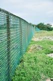 Der Stacheldraht in Tinian-Insel stockfotografie