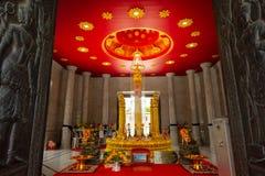 Der Stadt-Säulen-Schrein von Nakhon-sri thammarat in Thailand stockbilder