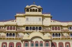 Der Stadtpalast im Jaipur-Stadt-Palast Stockbild