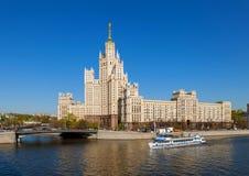 Der stalinist Wolkenkratzer Lizenzfreie Stockfotografie